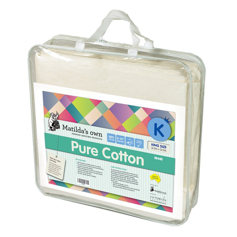 King Size Cotton Wadding Pack