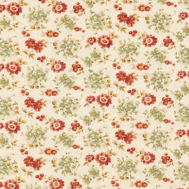 Larkspur - Floral Sweetbriar Rose - Feather