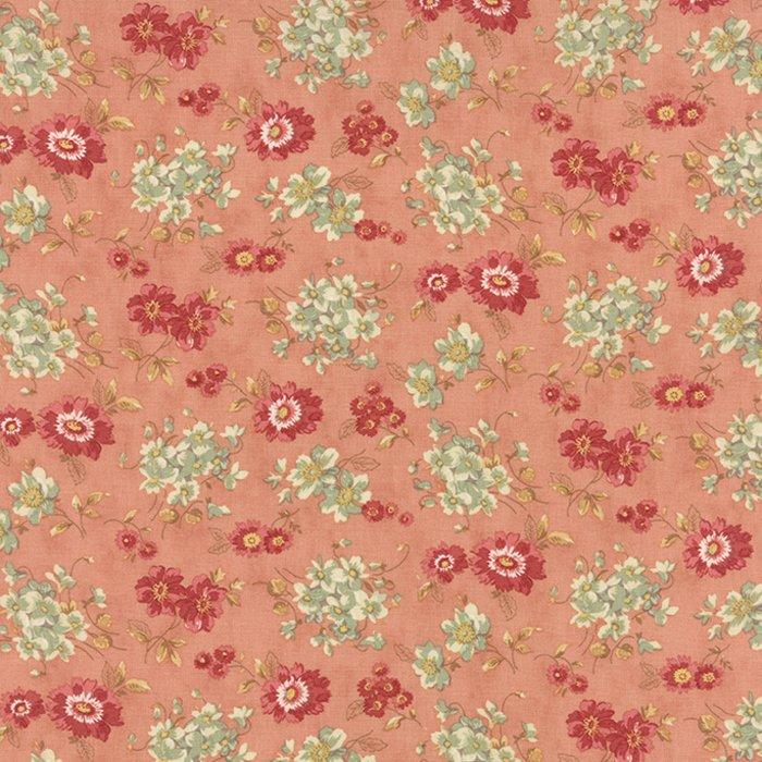 Larkspur - Floral Sweetbriar Rose - Blossom