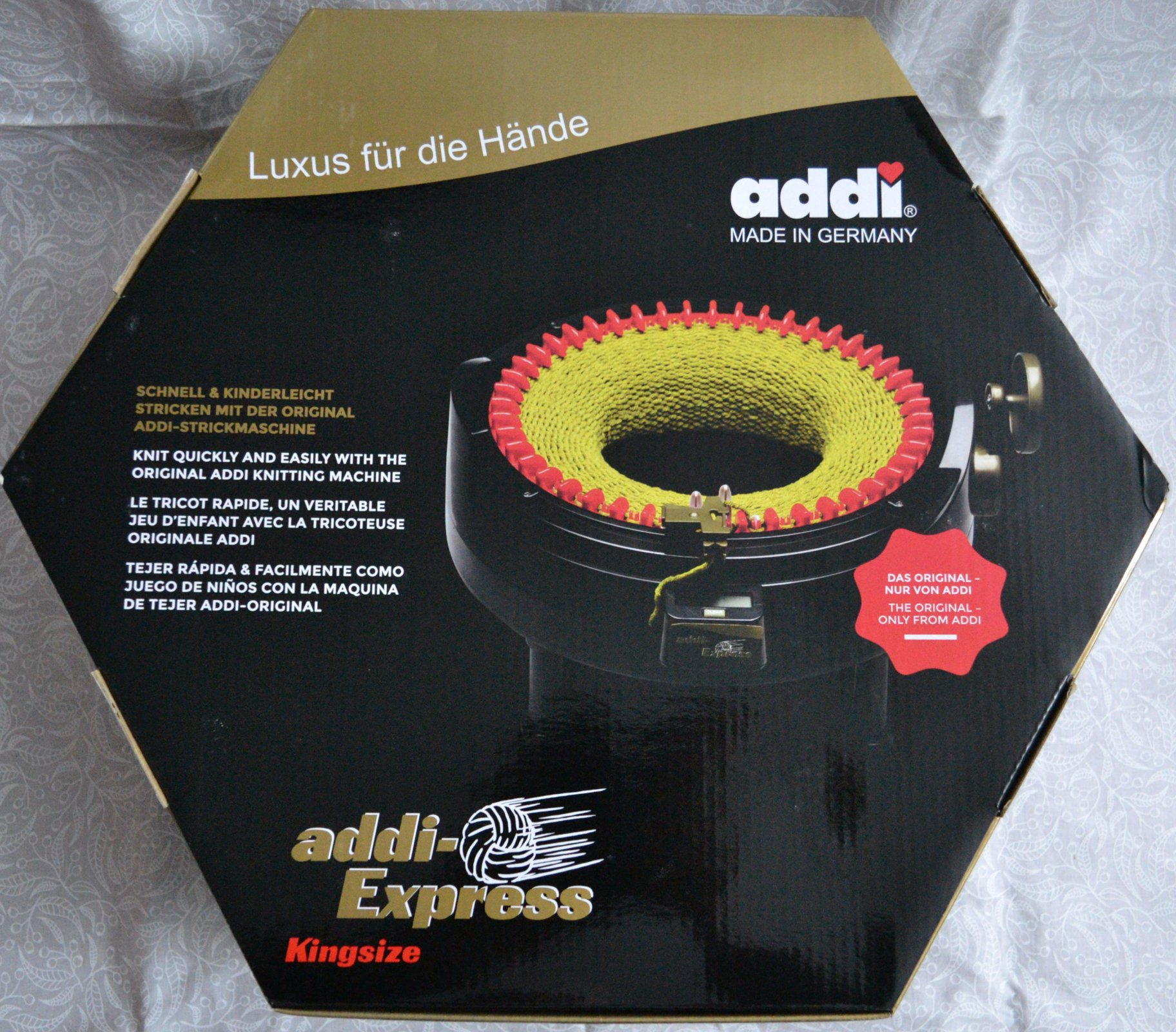 Addi King Size Knitting Machine