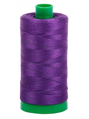 Aurifil Cotton Mako' 40 - 2545 - Med Purple - 1300m