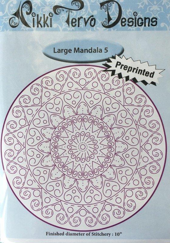 Nikki Tervo - Mandala Large 5 Pattern
