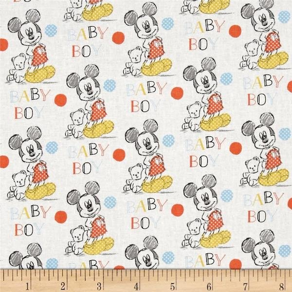 Mickey Nursery - Oh Boy Print