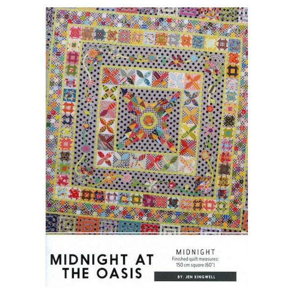 Midnight at the Oasis - Quilt Pattern