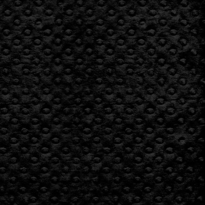 Minky - Black 60 inch wide