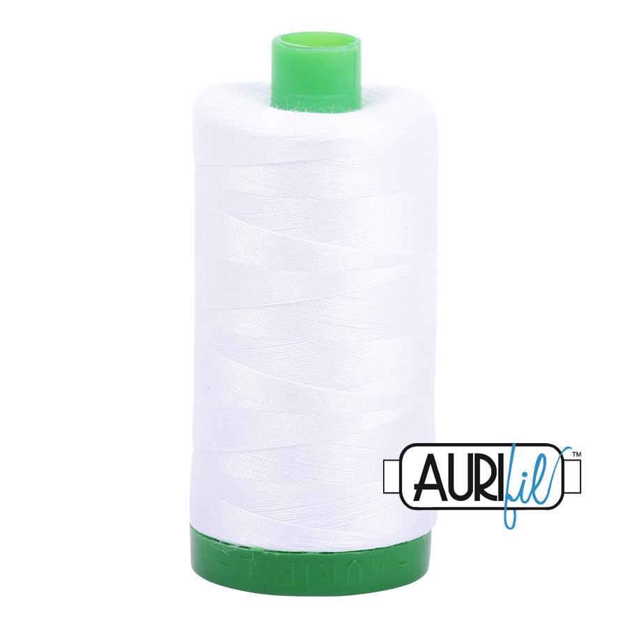 Aurifil Cotton Mako' 40 - 2024 - White