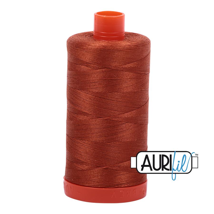 Aurifil Cotton Mako' 50 - 2390 - Mid Brown
