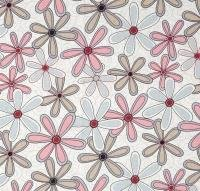 Multi Flowers - Basically Wide -  PRECUT 1.3m -  108