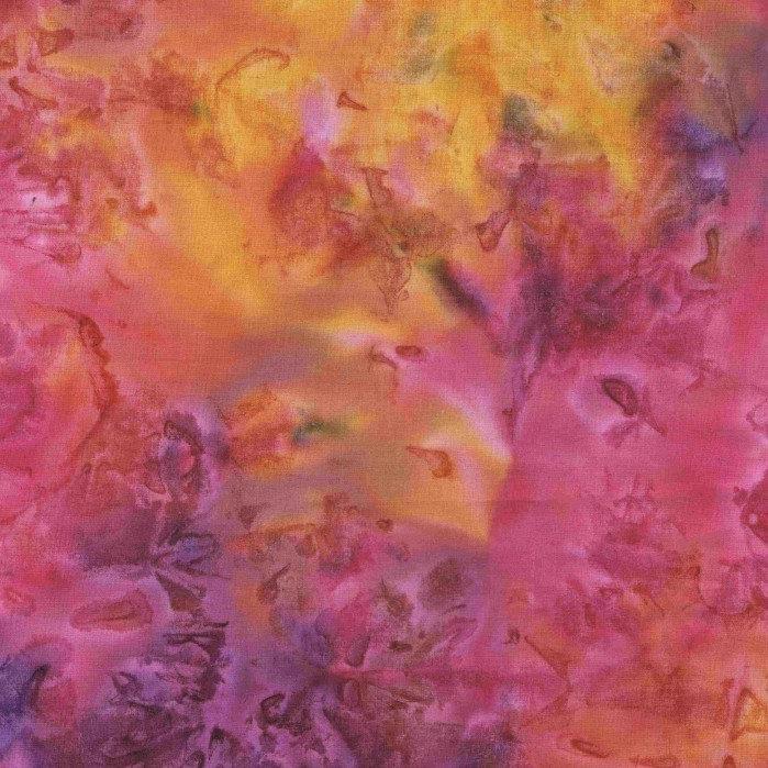 Mystical Tie Dyes Fuchsia - 1.2m Pre-Cut 108