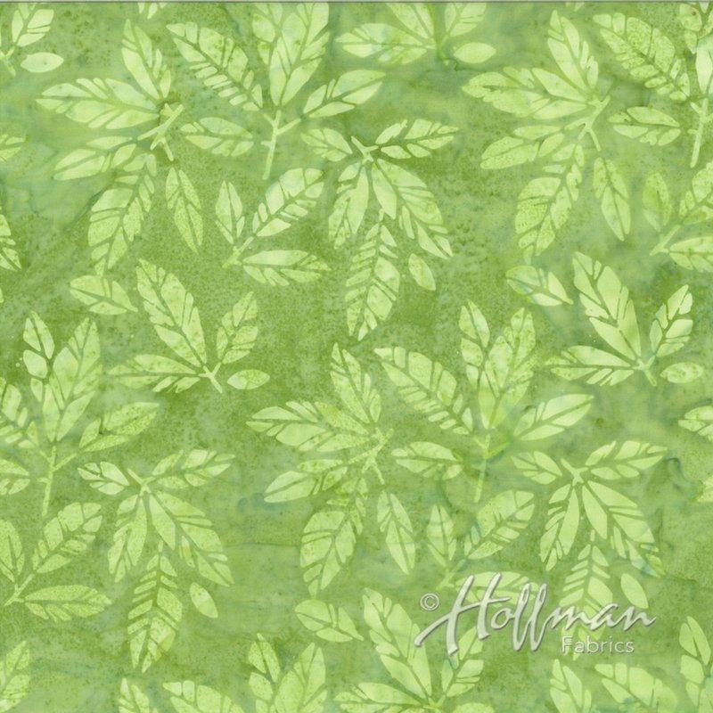 Hoffman Batiks - Leaves - Paisley