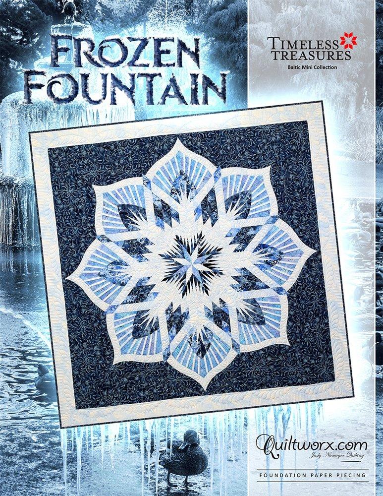 Frozen Fountain Quilt Pattern