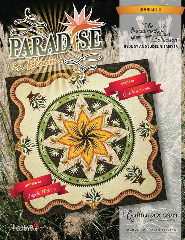 Paradise in Blooms Pattern Queen Extension