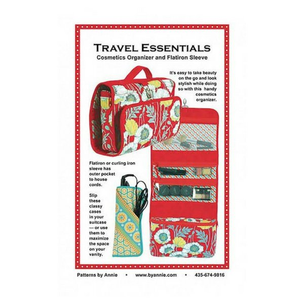 Travel Essentials 2 Pack Bag Pattern