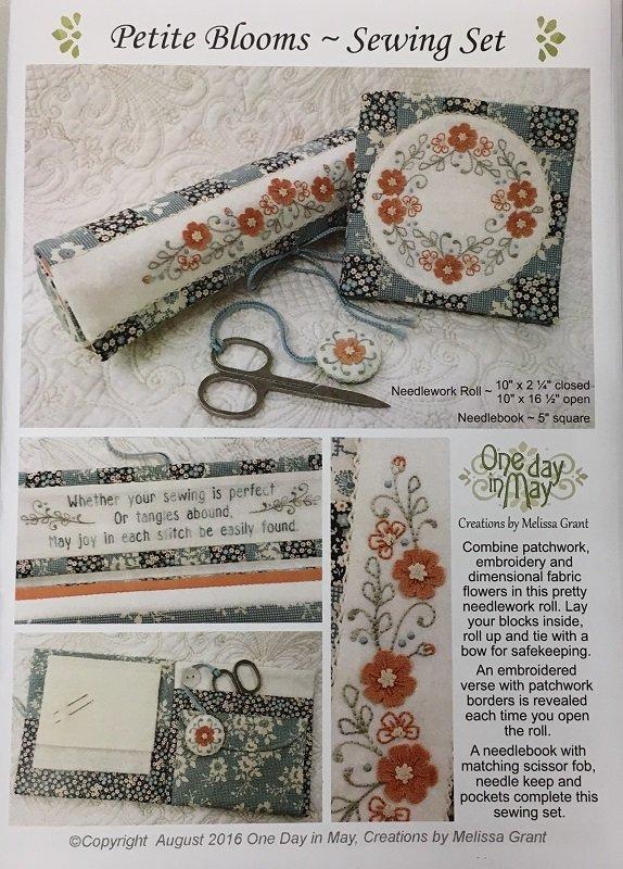 Petite Blooms Sewing Set Pattern