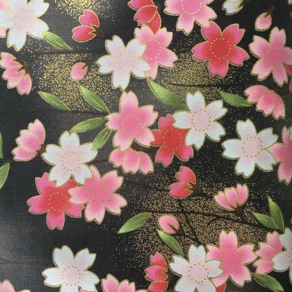 Kimono Collection - Cherry Blossoms - Black