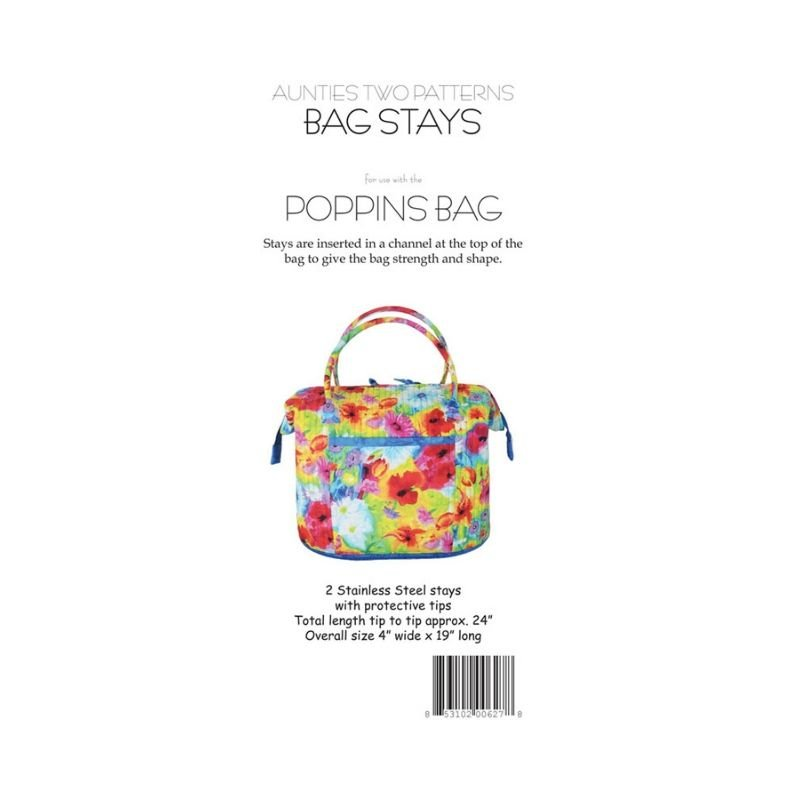 Poppins Bag Stays - 2pack