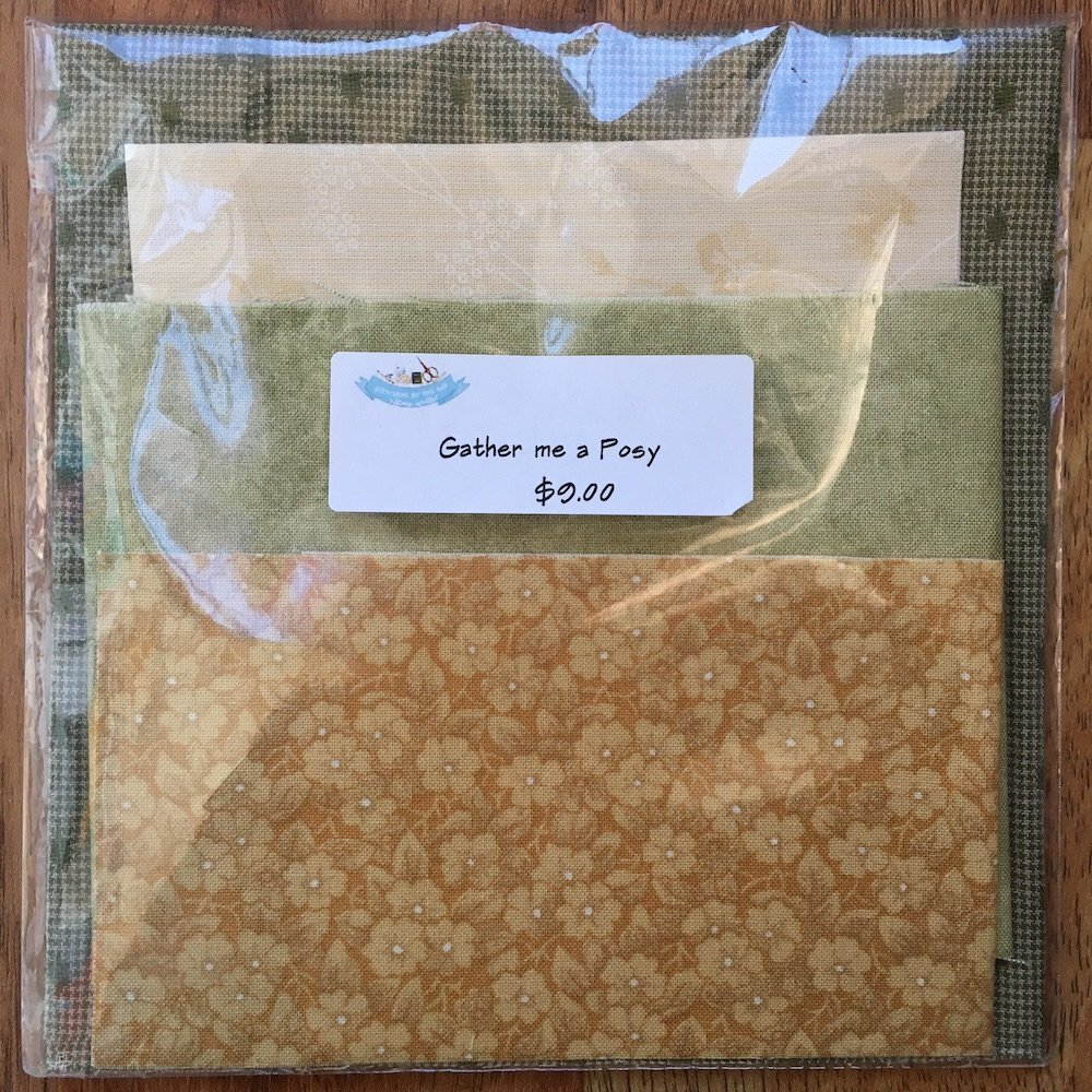 Gather me a Posy - Fabric Pack
