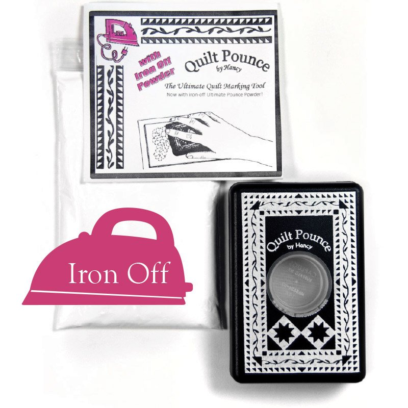 Quilt Pounce - with Iron Off Powder