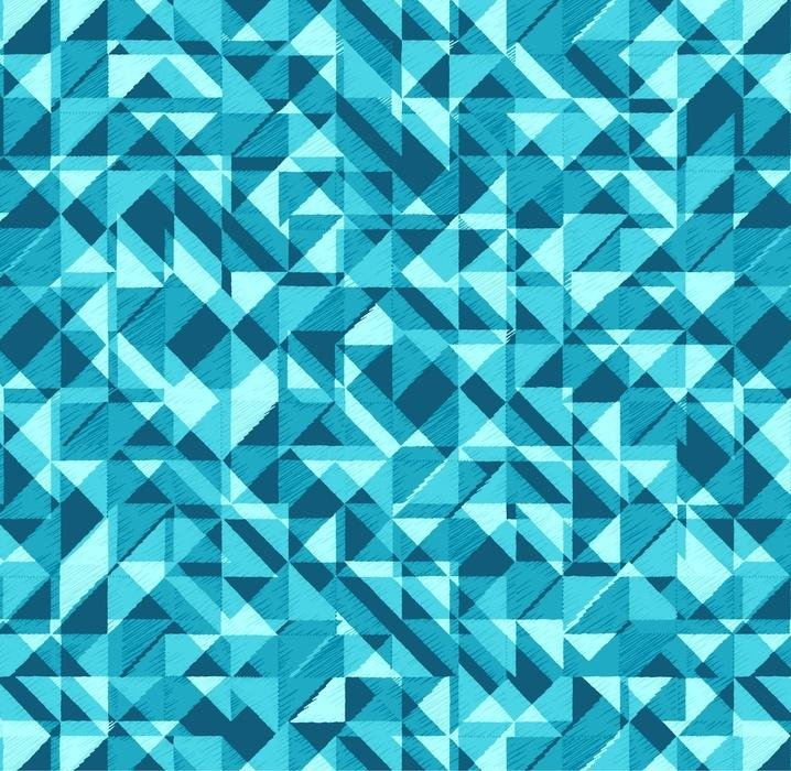 Prisms Turquoise 108 inch wide