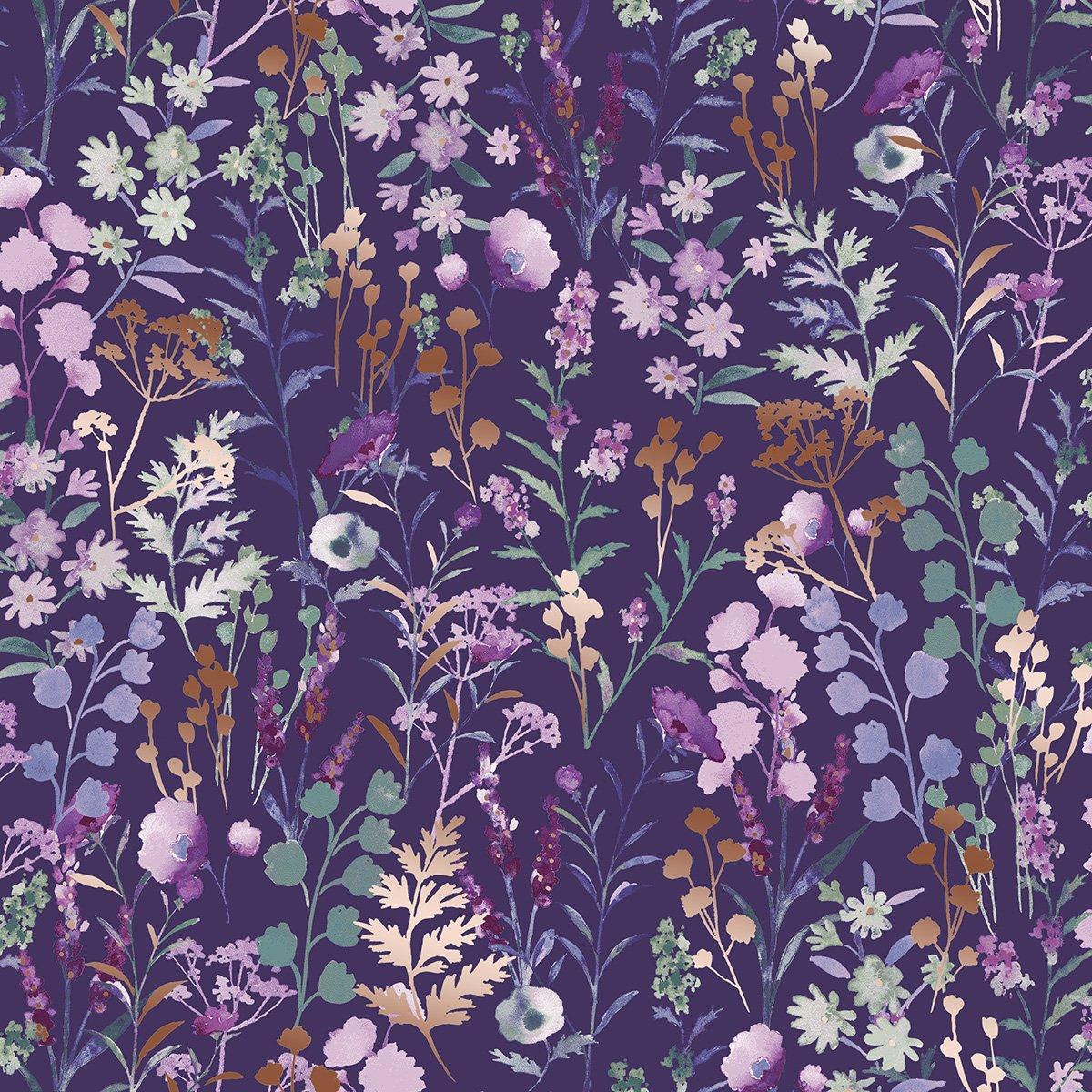 Lilac & Sage - Wildflowers - Purple