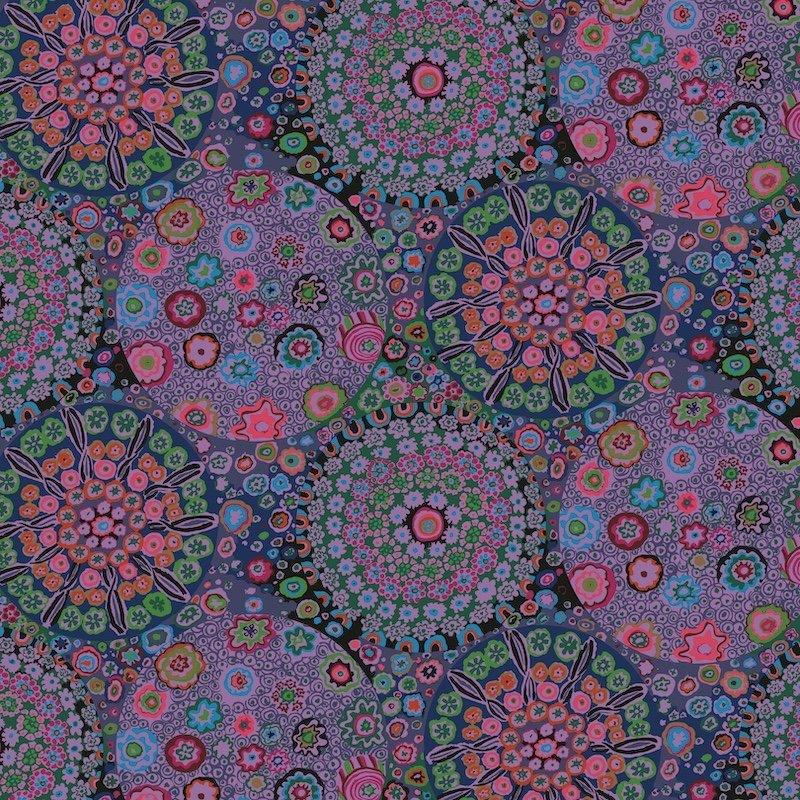 Kaffe Fassett Collective August 2020 - Millefiore - Dusty