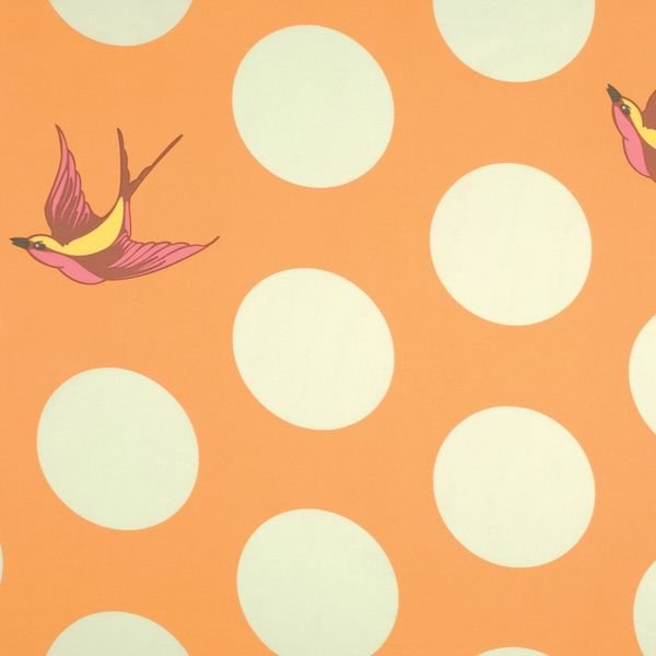 Tula Pink - Free Fall Creamsicle 108 inch wide