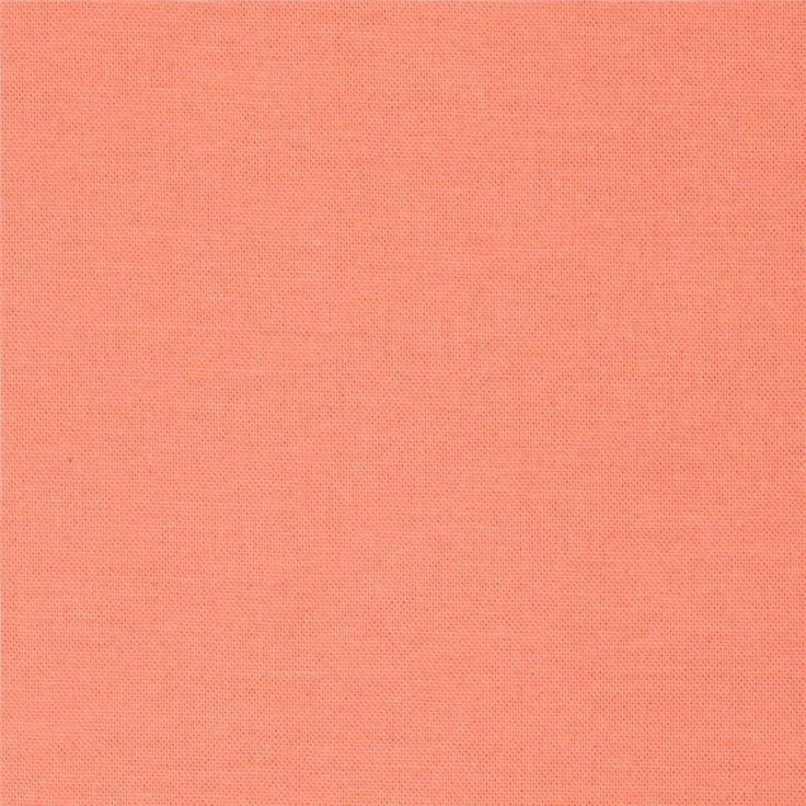 Quilter's Cotton Solid - Salmon
