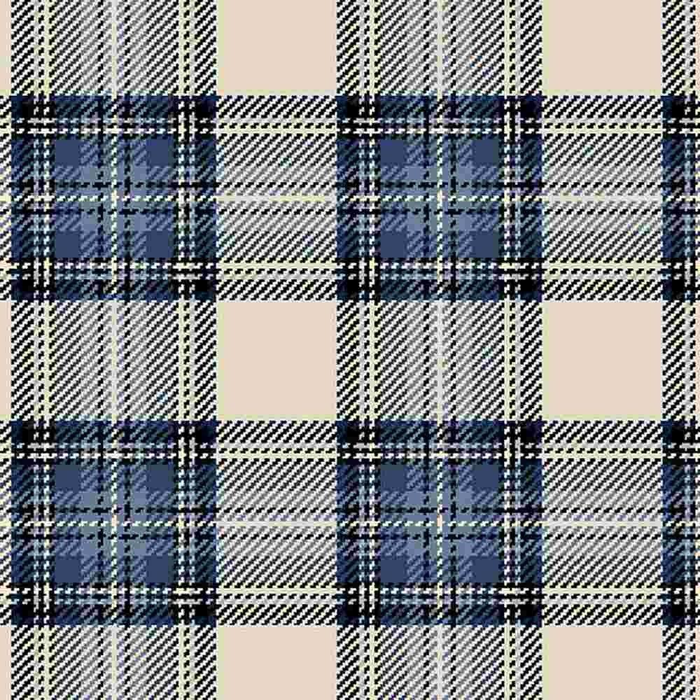 COMING SOON - Indigos R0935 Cream - Primo Plaid Flannel