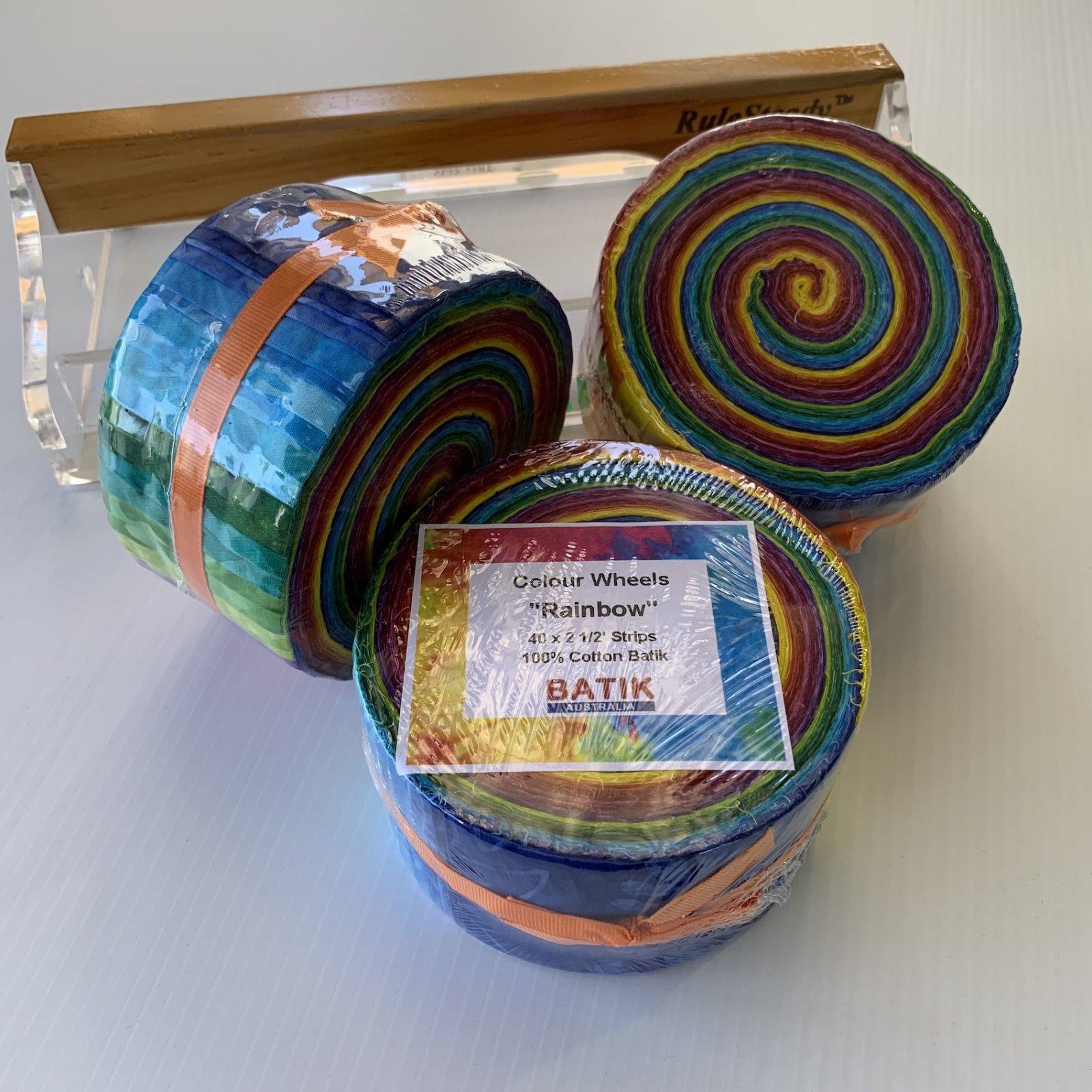 Colour Wheels - Rainbow