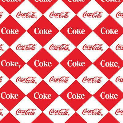 Vintage Coca-Cola - Checkerboard