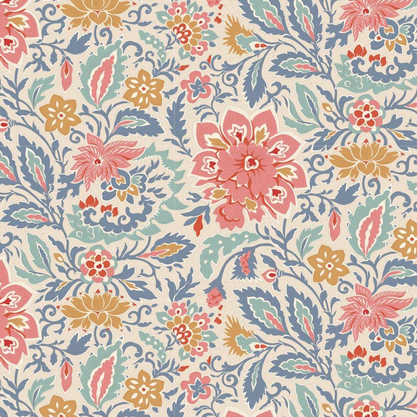 PRE-ORDER  - Tilda - Windy Days - Skyler Floral Blue