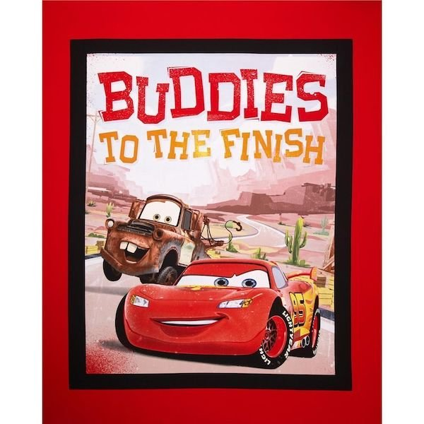 Disney Cars - Buddies to the Finish - Panel