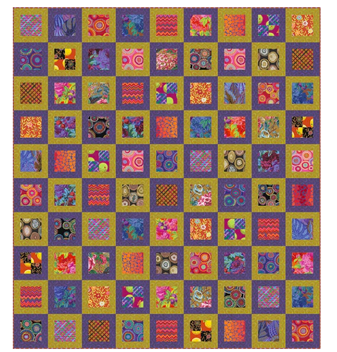 Square in Square Quilt Pattern - FREE DOWNLOAD