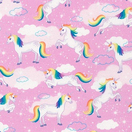 Enchanted Unicorns - Pink