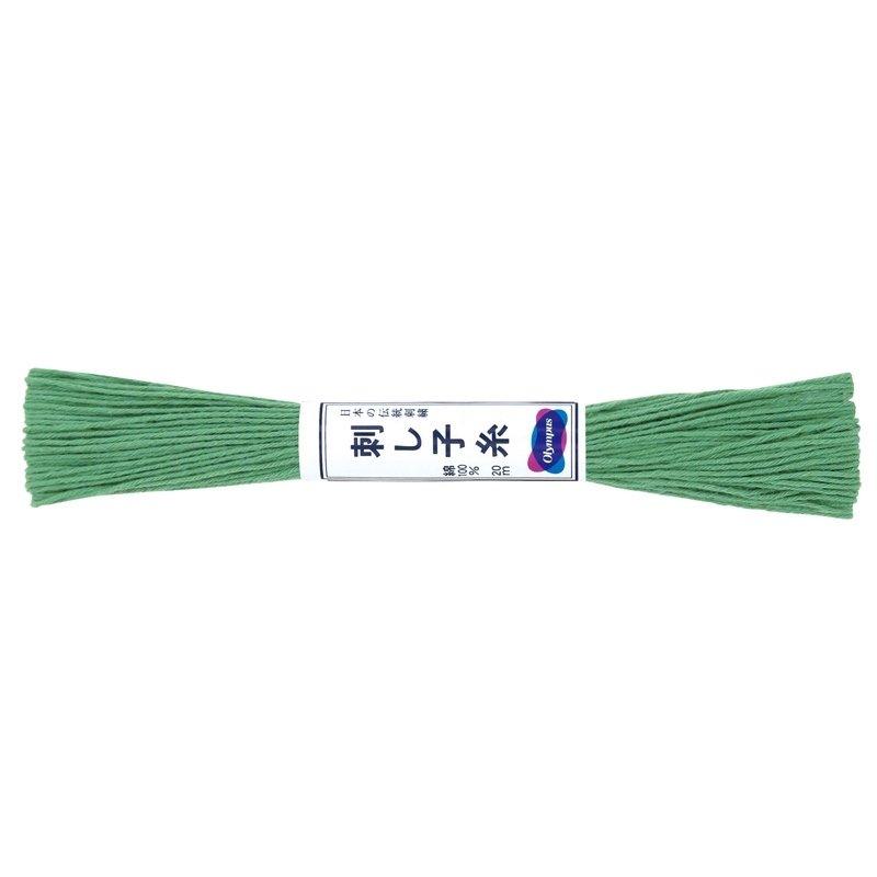 Sashiko Thread Green 20m