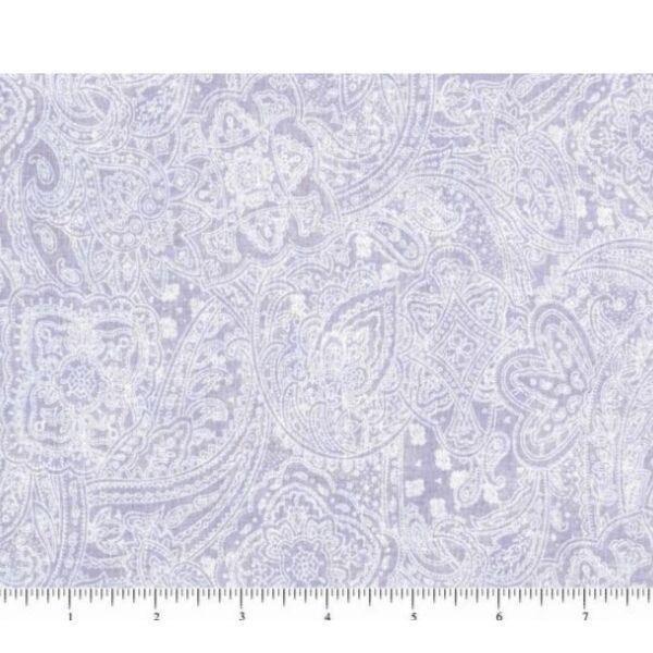 Subtle Paisley - Lilac - 108