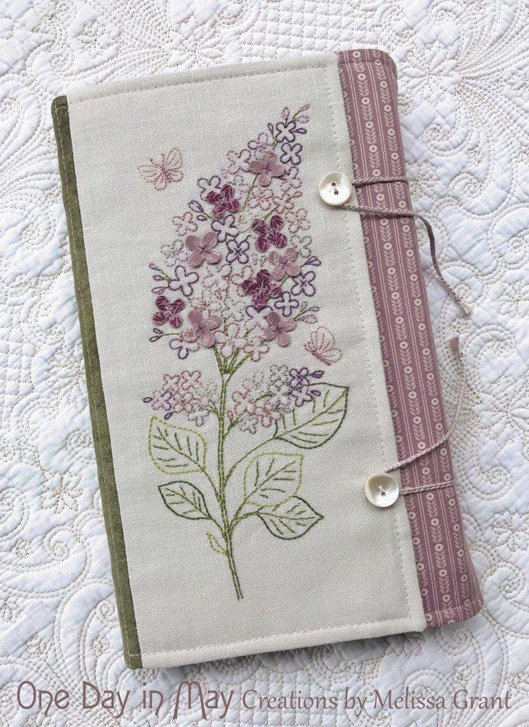 Sweet Lilacs Book Wrap Pattern