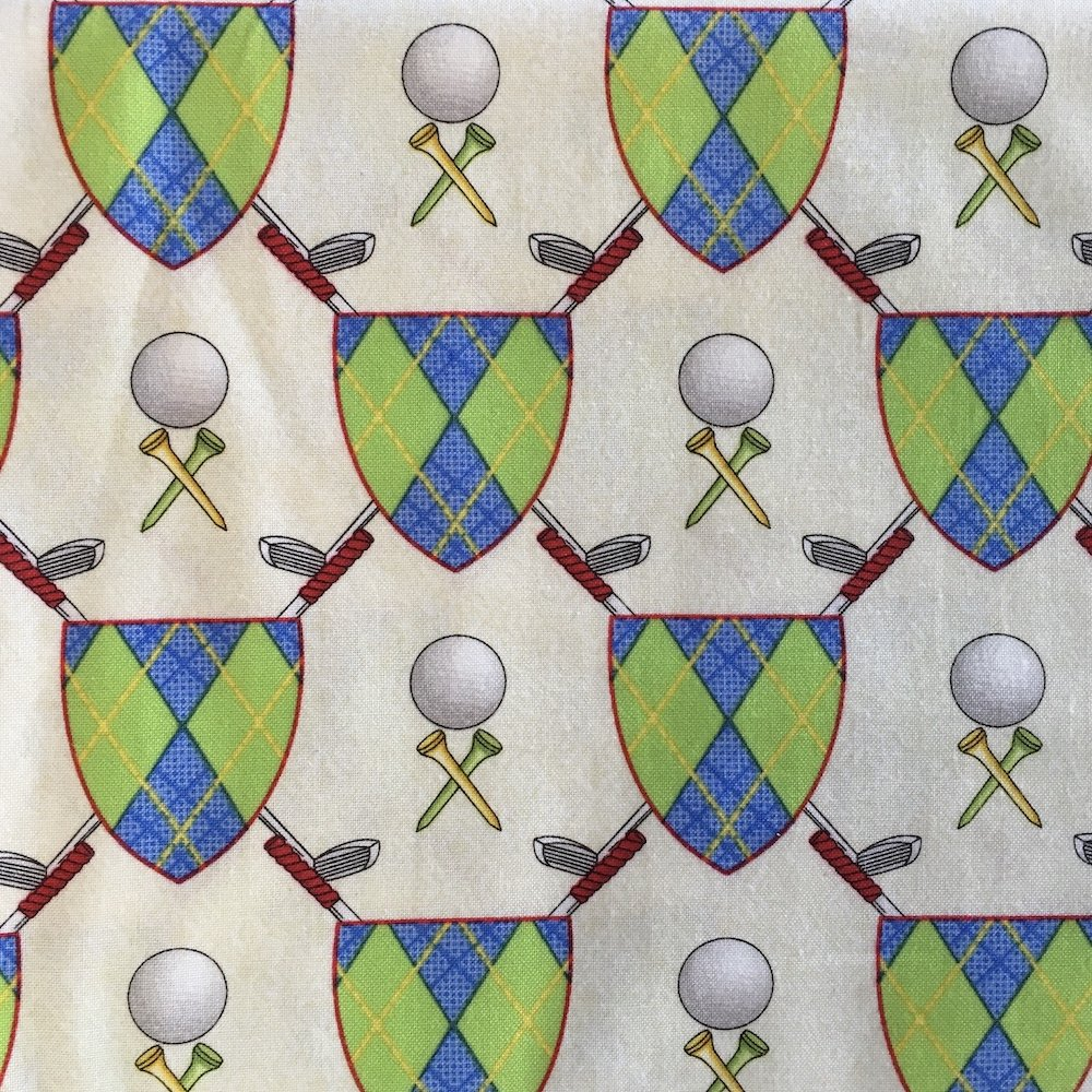 Swing Time - Golf Emblem