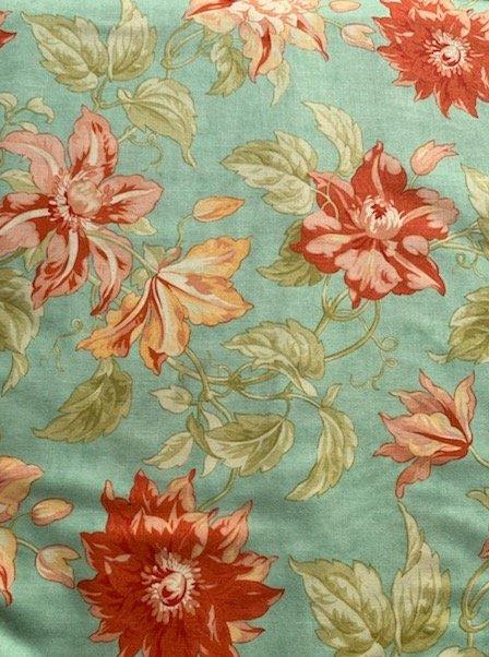 Tapestry - Passionfruit Vine - Azure