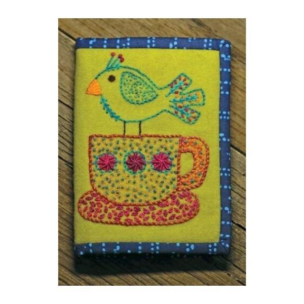 Tea Bird Needle Case Pattern