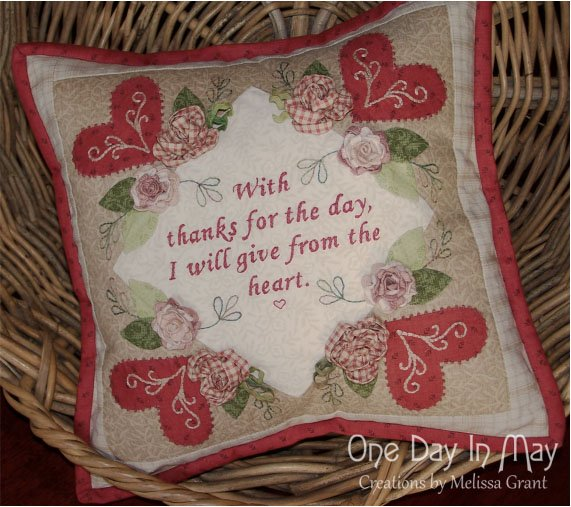 Thankful - Cushion Pattern