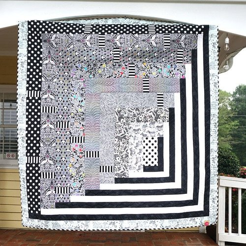 Tunnel Vision Quilt - FREE Download