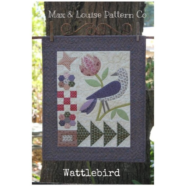 Small Treasures - Wattlebird Pattern