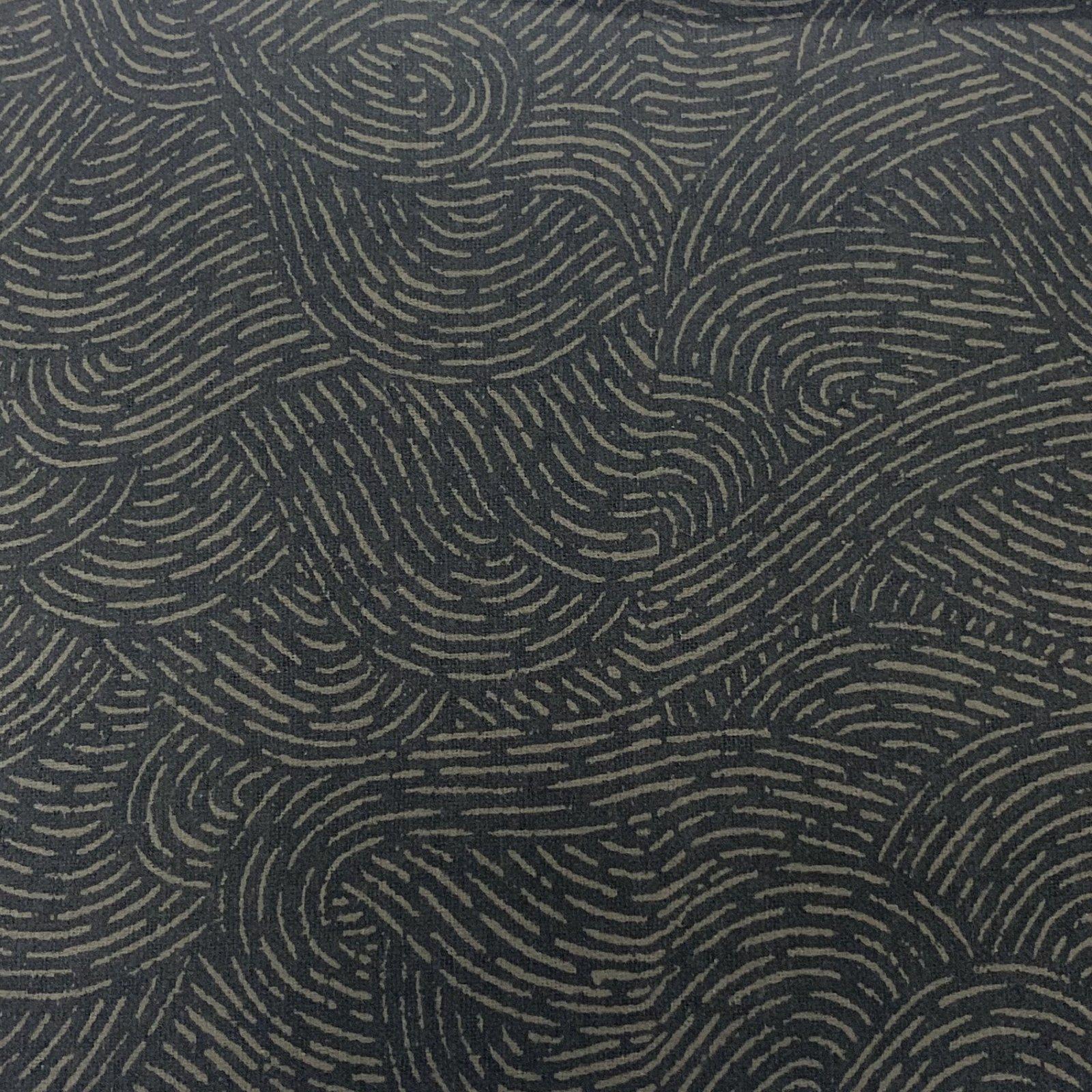 Flannel Pre-Cut - 2.5M - Wave Movement - Grey