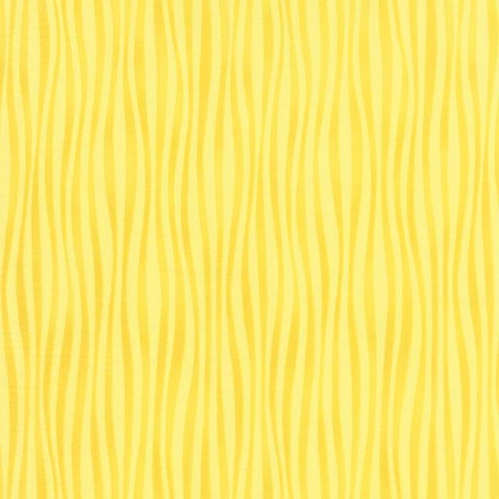 Dogwood Trail II - Wavy Stripe Sunshine