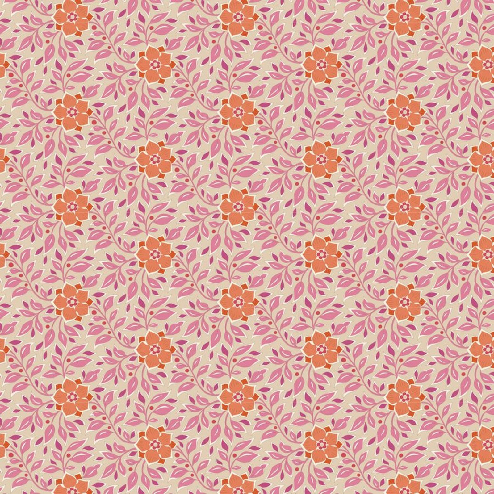 PRE-ORDER  - Tilda - Windy Days - Wendy Floral Pink