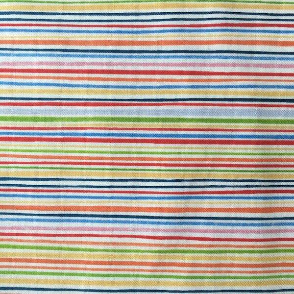 What a World - Pin Stripe - Multi