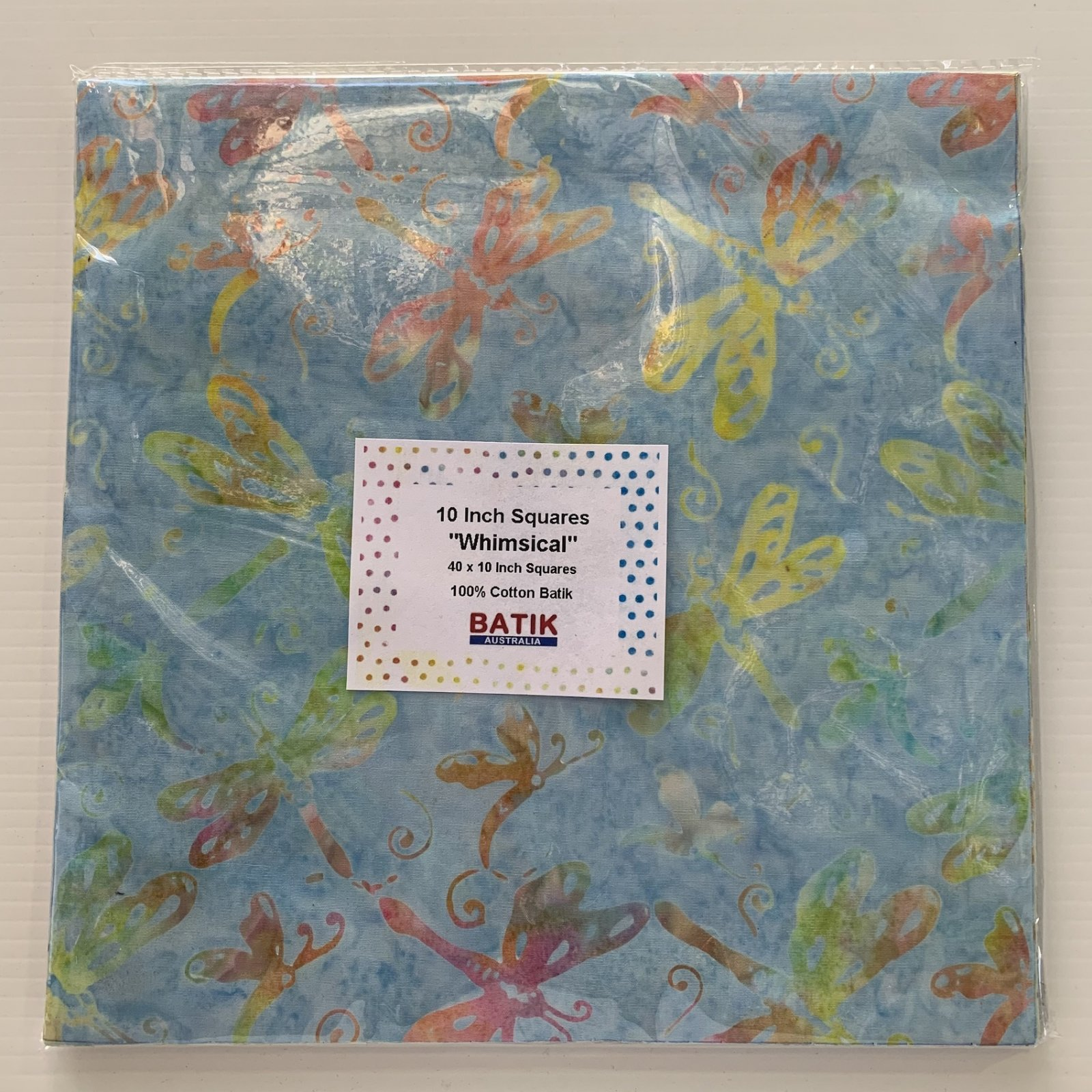 10 Inch Squares Whimsical