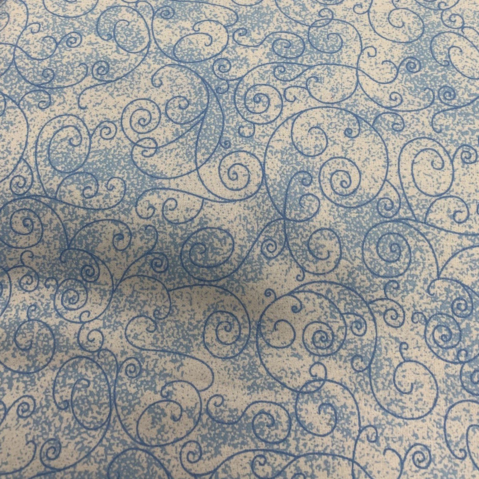 Flannel Pre-Cut - 2M - Willow - Sky Blue 108