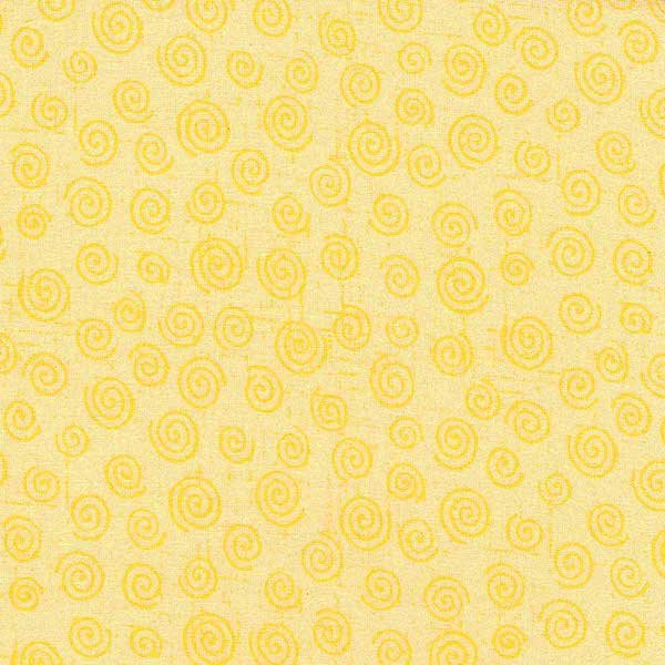 Twister Backing - Yellow - 108 1 metre PRE-CUT